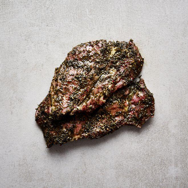 Nackensteak Barbecue